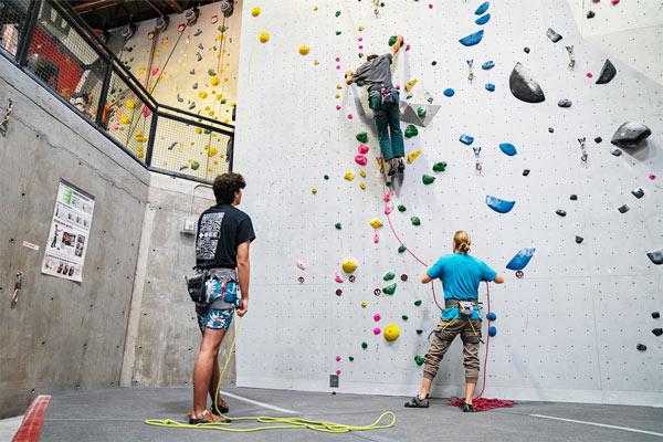 Lead Climbing Test